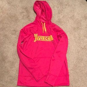 Be Invincible Livestrong Nike sweatshirt